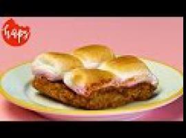 Niebiański amerykański deser Smores