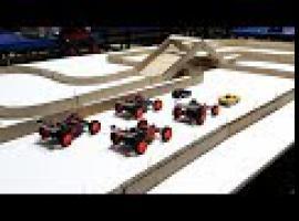 Jak zrobić tor z kartonu - super zabawa autkami RC