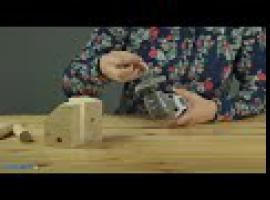 Jak zrobić zabawkę DIY - drewniany piesek