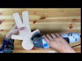 Jak zrobić piernikowego ludzika z drewna