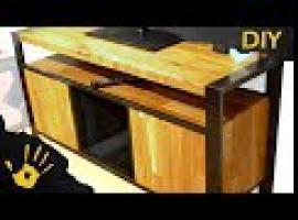 Jak zbudować szafkę RTV w industrialnym stylu