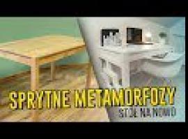 Jak odmienić wygląd zwykłego stołu - sprytne metamorfozy