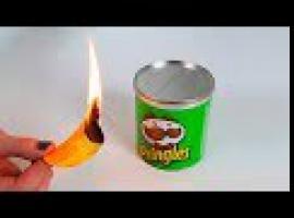 Jak wykorzystać opakowania po Pringlesach - 8 pomysłów