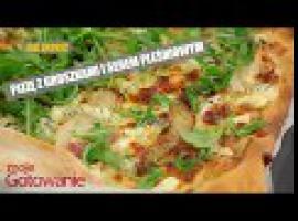 Dziwne dania - pizza z gruszkami i serem pleśniowym