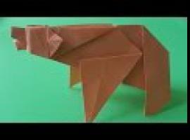 Jak zrobić niedźwiedzia z papieru