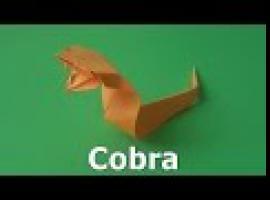 Jak złożyć papierową kobrę