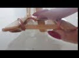 Jak zrobić mini łódkę - zabawka DIY