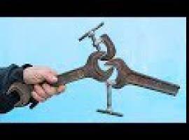Jak zbudować ściski ze starych kluczy
