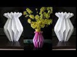 Jak zrobić papierowy wazon - inspiracje do domu