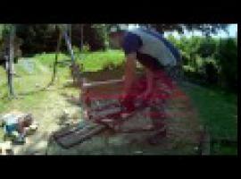 Jak zbudować huśtawkę do ogrodu w bardzo tani sposób