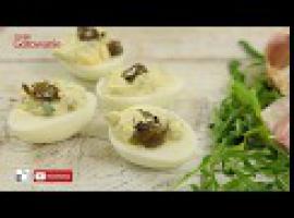 Jak zrobić danie na Wielkanoc - jajka z zielonym farszem