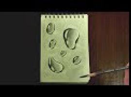 Jak rysować realistyczne krople
