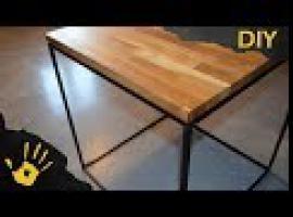Jak zrobić kwadratowy stolik - meble DIY do domu