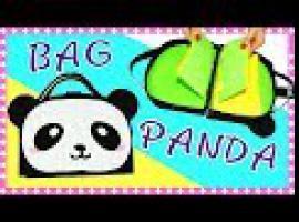 Jak zrobić torebkę z papieru - Panda Style