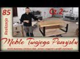 Jak zrobić stolik kawowy z blatem dębowo-jesionowym #2