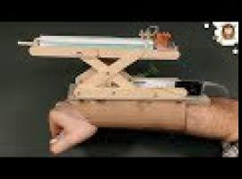 Jak zrobić niesamowity pistolet maszynowy zakładany na rękę