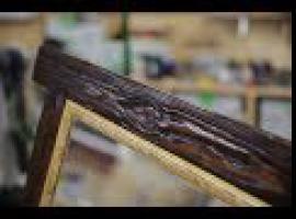 Jak zrobić ramę do lustra w rustykalnym stylu