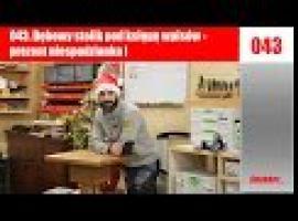Jak zbudować stolik pod księgę wpisów - pomysł na prezent