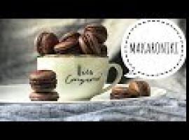 Jak zrobić makaroniki czekoladowe ze słonym karmelem