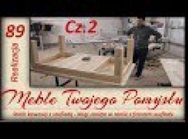 Stolik kawowy z szufladą #2 - nogi stolika