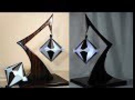 Jak złożyć diamentową kulę kusudama