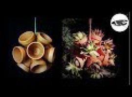 Jak zrobić wiszący kwietnik - kula z doniczek