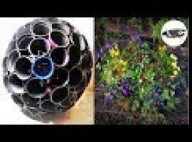 Jak zrobić kwietnik z doniczek w kształcie kuli