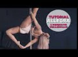 Jak opanować figurę Allegra w tańcu na rurze
