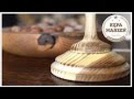 Jak postarzać drewno metodą opalania