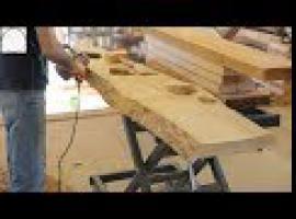 Jak zrobić jesionowy stół do jadalni [Odc. 1]