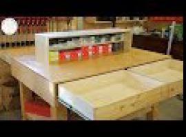 Jak przerobić stary stół montażowy w stolarni