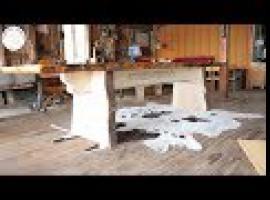 Jak zrobić wielki drewniany stół ogrodowy