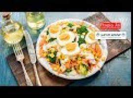Jak przygotować sałatkę z brokułem i kukurydzą