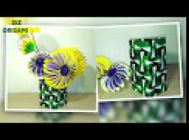 Jak zrobić wazon z papieru - niesamowite origami