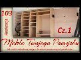 Jak zrobić zabudowę szafy z drzwiami przesuwnymi