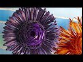 Jak zrobić kwiaty z papieru - nowy i niesamowity styl