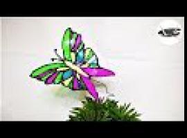 Jak zrobić witraż w kształcie motyla z butelek