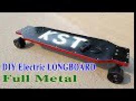 Jak zrobić elektryczny metalowy longboard