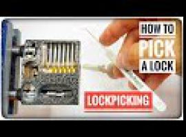Jak otworzyć zamek bez klucza wytrychem metodą SPP