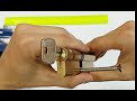 Jak wymienić wkładkę zamka w drzwiach - wkładka bębenkowa