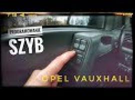 Jak programować szyby - Opel Astra G bez tajemnic