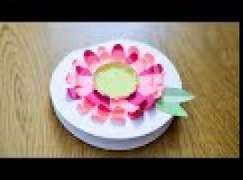 Jak zrobić kwiatek z papieru w prosty i szybki sposób