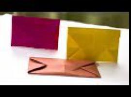 Jak zrobić kopertę z papieru - praktyczne origami