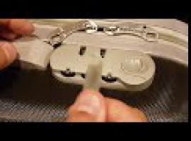 Jak otworzyć zamek szyfrowy w walizce