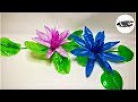 Jak zrobić lilie wodne ze zwykłej butelki