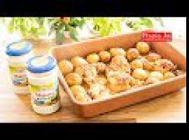Jak zrobić pałki z kurczaka pieczone z ziemniakami