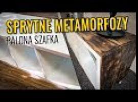 Palona Szafka - Metamorfoza zwykłego regału