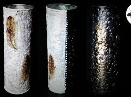 Jak zrobić pojemnik oklejony mozaiką ze skorupek