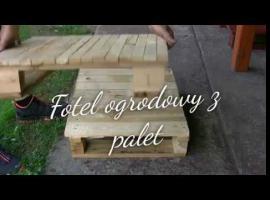 Jak zrobić fotel ogrodowy z palet