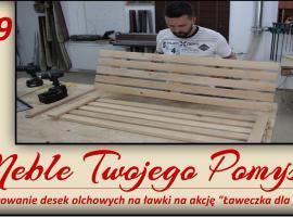 Jak przygotować deski olchowe na ławki